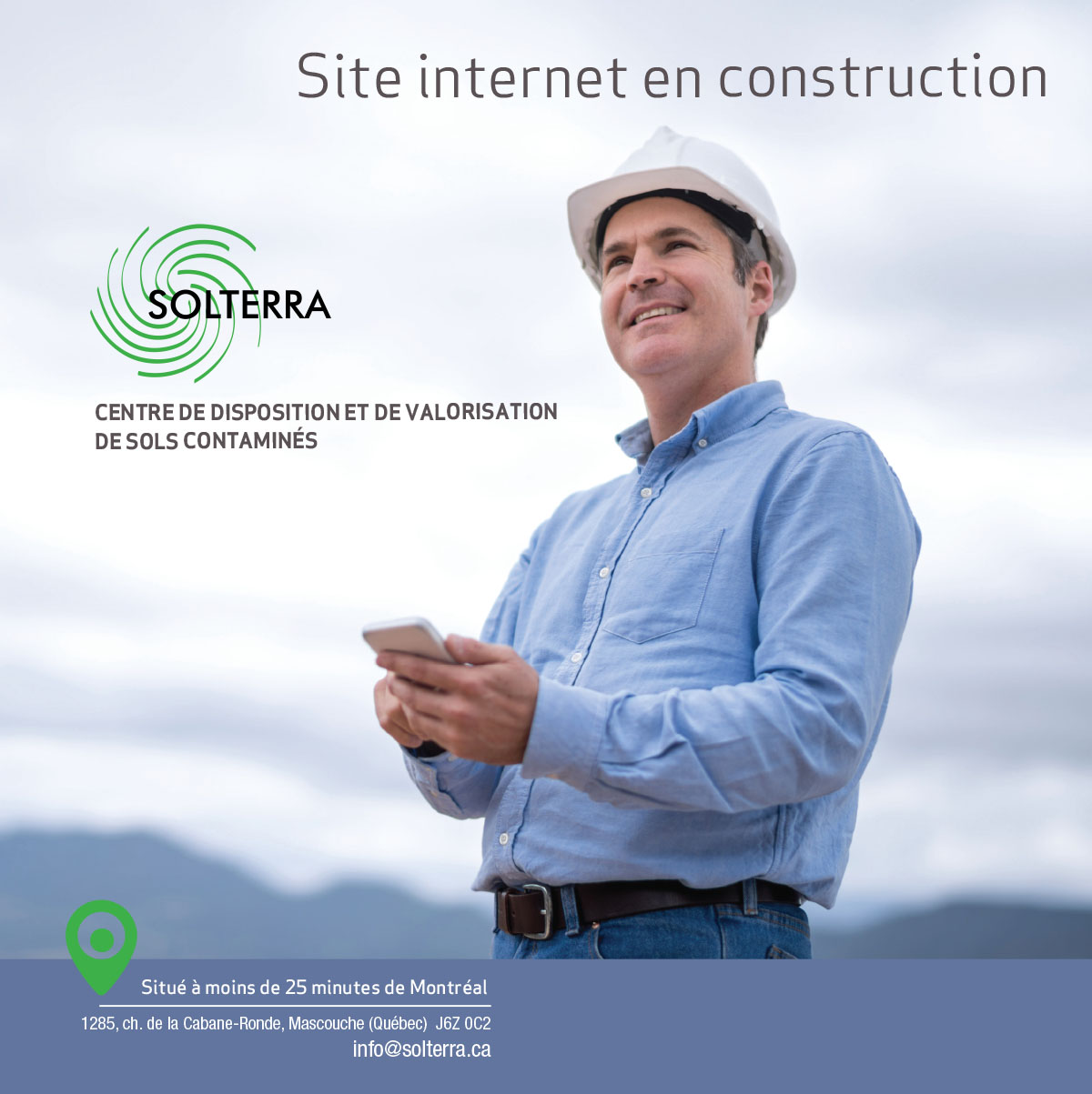 Site Solterra en construction